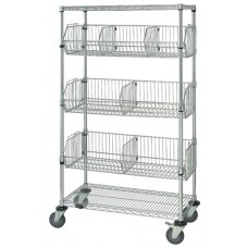 Mobile Wire Basket Units