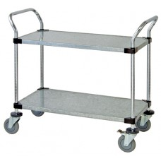 Solid Shelf Utility Cart