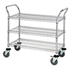 Wire Shelf Utility Cart